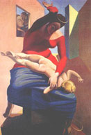 Max Ernst's The Virgin Spanking the Christ Child before Three Witnesses: Andre Breton, Paul Eluard, and the Painter
