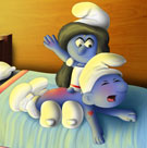SuperSchtroumpf's Smurfs - Bedtime agreement #1
