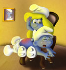SuperSchtroumpf's Smurfs - Brainy Smurf: the bad boy
