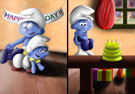 SuperSchtroumpf's Smurfs - Happy birthday me :D