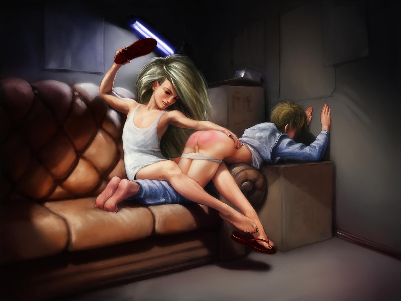 boy spank 3d pictures