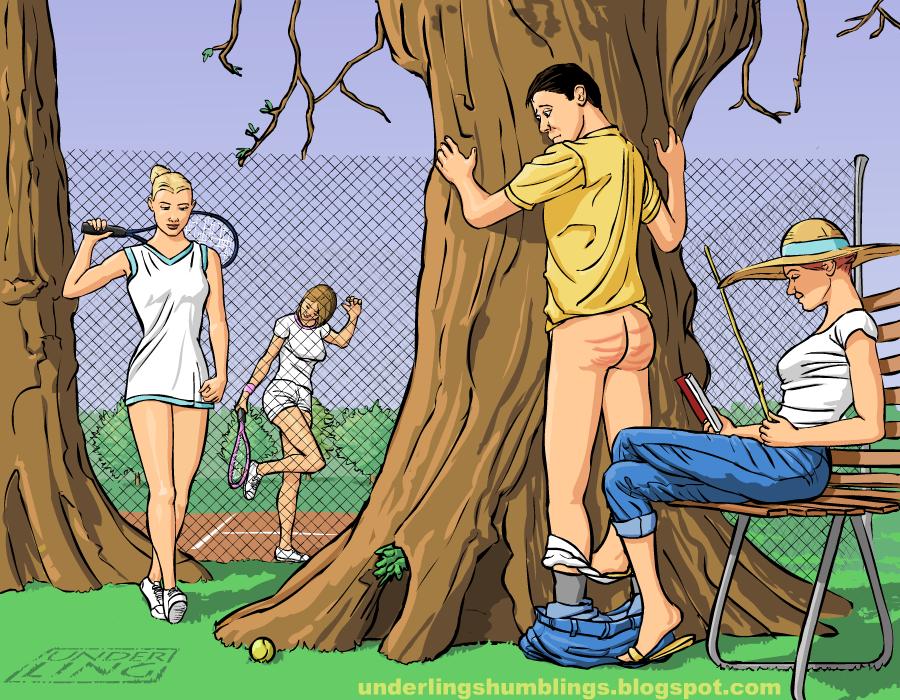 Underling S Male Spanking Art Boyz Being