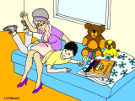 LittleLord's Home spanking