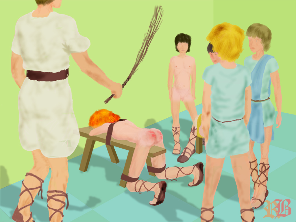 A spanking for being rude 2