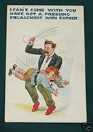 Men Spanking Boys Vintage Spanking Art #1