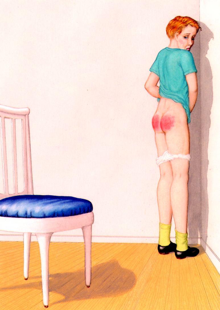 Naughty boys spanked drawings gay joshuah 1