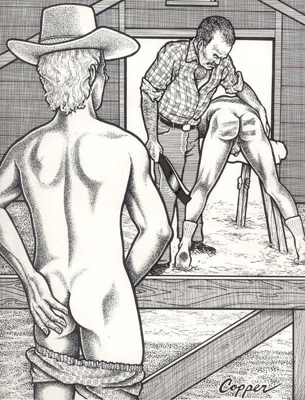 Drawings of boys being spanked and teacher spanking naked gay