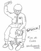 Comixpank's Fun at Cubs