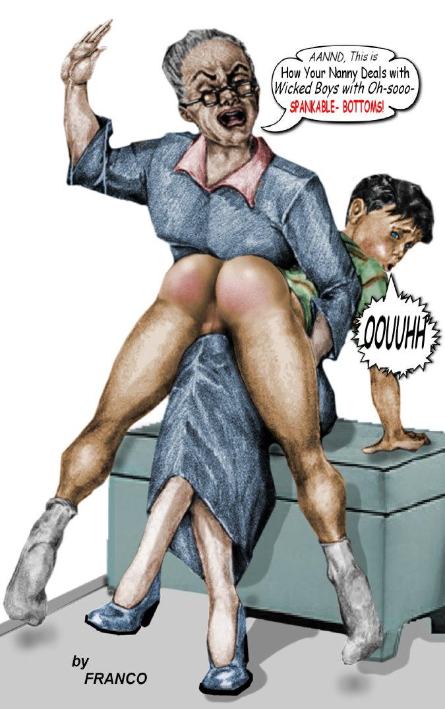 Drawings franco spanking art