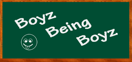 Boyz Being Boys Site Logo